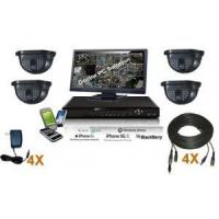 Buy cheap 4 Channel Indoor Security System Kit from wholesalers