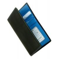 Quality Leather Passport Wallet w Oversized Currency Pocket & Designer Color InteriorItem #: 95152 for sale
