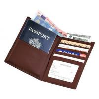 Quality Leather Travel Wallet w Passport & Currency PocketsItem #: 95147 for sale