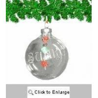 Best Personalized Bunco Christmas Ornament wholesale