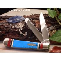 China CASE XX EXOTIC TURQUOISE TRAPPER #6663 on sale