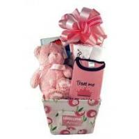 Buy cheap Baby Gift Baskets Personalized Baby Girl Gift Canvas Basket from wholesalers