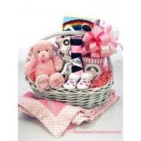 Buy cheap Baby Gift Baskets Welcome New Baby Girl Gift Basket from wholesalers