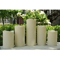 Best Set Of 5 Flameless Outdoor Resin Candles with Timer wholesale