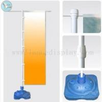 China Outdoor Flag Banner outdoor PVC 3m flag water injection base flag banenr stand on sale