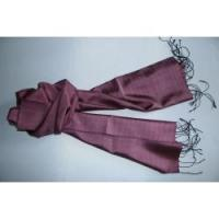 China Dark pink silk scarf 01 on sale