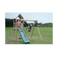 Buy cheap Climbing Frames Glastonbury Wooden Climbing Frame with Swing from wholesalers