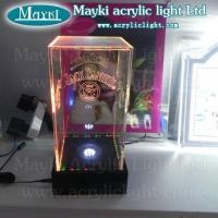 China Acrylic liquor display LED bottle display on sale
