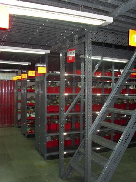 Buy Two Tier Rack Floor View at wholesale prices