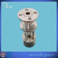 Quality flange sight glass sanitary stainless steel welded sight glass with protect net for sale