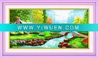 China Artificial Crafts(970) ideal world cross stitch on sale