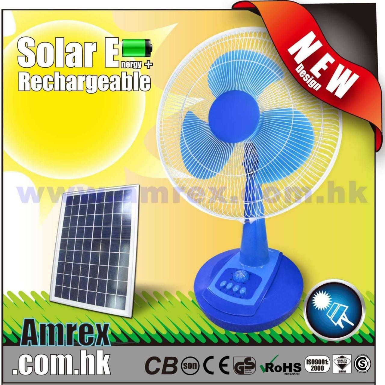 Quality 12 RECHARGEABLE DESK FAN (MODEL: AXTF-1-16SP) OTHERS for sale