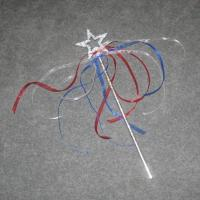 China 4th of July - Silver Star Wand on sale