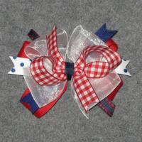China 4th of July - Toddler Hair Bow on sale