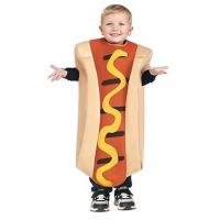 Quality Girls Costumes Hot Dog Kids Costume for sale