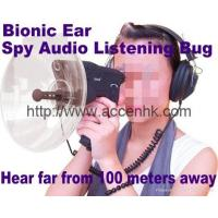 Quality Bionic Ear Sound Recorder 100 meters headphone Spy Audio Listening Amplifier Bug for sale