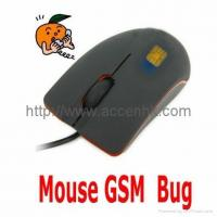 Quality USB Optical Mouse GSM Spy Audio Bug Mobile Ear Listening Surveillance Device for sale