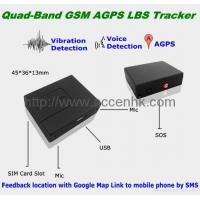 Quality Quad-Band Spy GSM Audio Monitor Ear Bug W/ AGPS Tracking SOS Voice Detection for sale