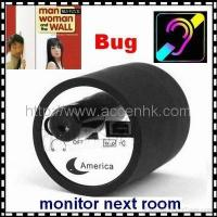 Mini Next Room Ear Amplifier Through Wall Door Listening Spy Surveillance Bug
