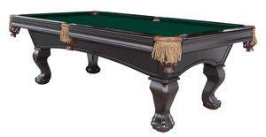 Cheap Carmelli-Cambridge 8' Solid Wood Slate Pool Table (Accessories Included) for sale