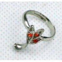 Best Fashion Costume Tin Alloy Rhinestone Western Jewelry Rings for Anniversary wholesale
