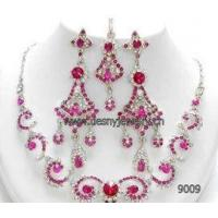 Best 2012 Bridal fashion jewelry kundan set with mei red wholesale