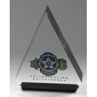 Buy cheap Clear PMMA Printable Acrylic Pop Display Gift Card Stand For Star Products With Customised from wholesalers