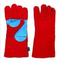 China Leather Working Gloves Reinforced Welding Gloves on sale