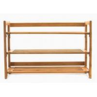 Buy cheap Bamboo foldable shoe rack from wholesalers