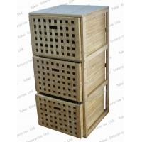 Buy cheap Bamboo drawer cabinet from wholesalers