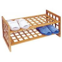 Quality Bamboo 2 tier shoe rack for sale