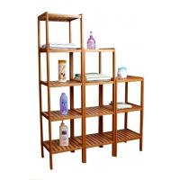 Buy cheap Bamboo 3,4,5 tier shelves from wholesalers