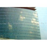 China Minimum size 300 * 800 mm blue, green decorative glass curtain walls for airport on sale