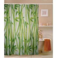 Best Fabric Shower Curtains East Bamboo grove Fabric Shower Curtain M3005 wholesale