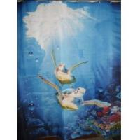 Best Fabric Shower Curtains Gorgeous Sea turtles Fabric Shower Curtain wholesale