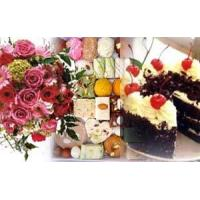 Quality COMBO 5 - Flowers, 2 kg Mithai and 2 LBS Cake for sale