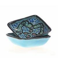 """Quality Turquoise Star 4"""" Sauce Dish, Set of 2 for sale"""