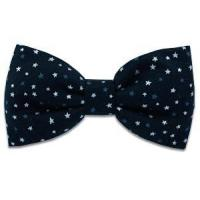 China Silver Stars Bow Tie on sale