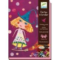 Quality Arts & Crafts Djeco Stitching Cards - Witches for sale