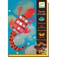 Buy cheap Arts & Crafts Djeco Stitching Cards - Jewel Animals from wholesalers