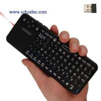 Quality 2.4G Mini Wireless Keyboard with touch pad for sale