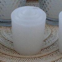 China 144 White Votive Candles - 15 hr on sale