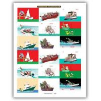 Christmas Cards Nautical Christmas Gift Stickers Set 1