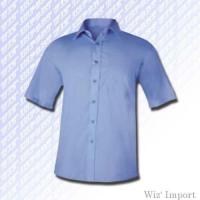Quality Popeline short sleeves shirt for sale