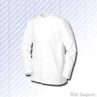 Quality Round neck long sleeves t-shirt for sale