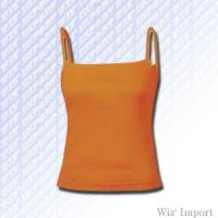 Quality Sleeveless skinny t-shirt with thin straps for sale