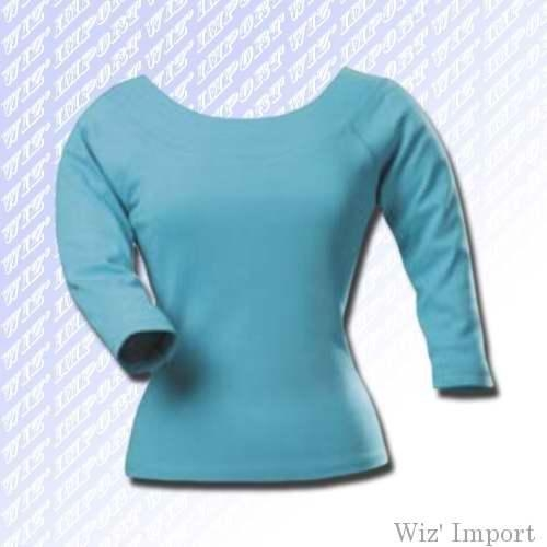 Buy Boat neck long sleeves t-shirt at wholesale prices