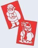 China Christmas products - Christmas Stencils on sale