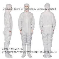 China Static Control Products Clean Room ESD Coverall Suit on sale