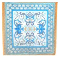 China Printed Cotton Silk Scarves on sale